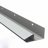 Continuous Soffit Strip 10mm - White